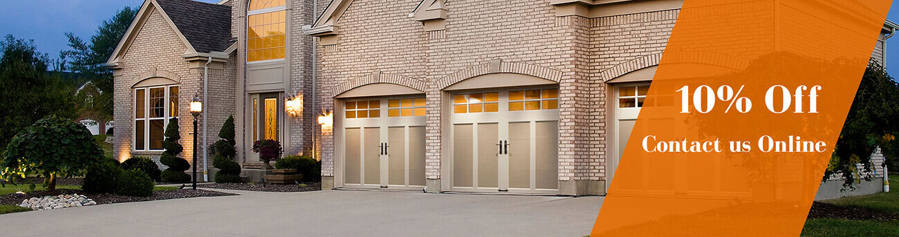 10% Off on Garage Door Service